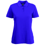 65/35  Lady-Fit Polo, Purple, XS, FOL