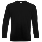Valueweight long sleeve t (61-038-0) black m