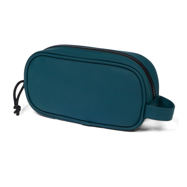 Norländer Dull PU Cosmetic Bag Green