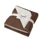 Cosy Hearth Blanket bruin/naturel