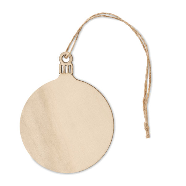 BALY - Wooden Tree bauble hanger