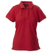 HARVEST AVON LADY PIQUE RED S