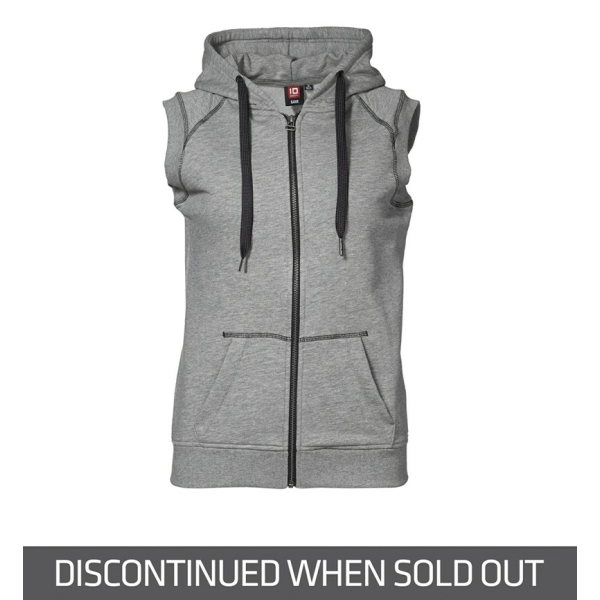Sporty hooded vest