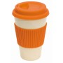"coffee mug , 400ml orange""eco cup"""