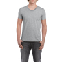 Gildan T-shirt V-Neck SoftStyle SS for him Sport Grey M
