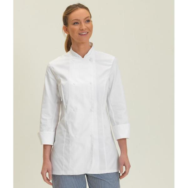 Ladies Long Sleeve Premium Chef's Jacket