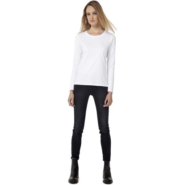 #e190 ladies' t-shirt long sleeve