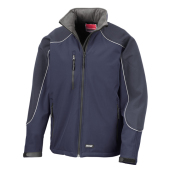 Ice Fell Hooded Soft Shell Jack
