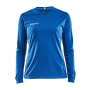 Craft Squad solid jersey LS wmn royal blue xxl