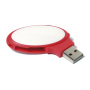 Oval Twister USB FlashDrive zwart