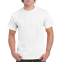 Gildan T-shirt Heavy Cotton for him White 5XL