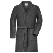 Men's Bathrobe - grafiet