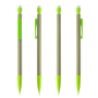 Matic ECO MP BA grey_Trim lime green_Eraser white