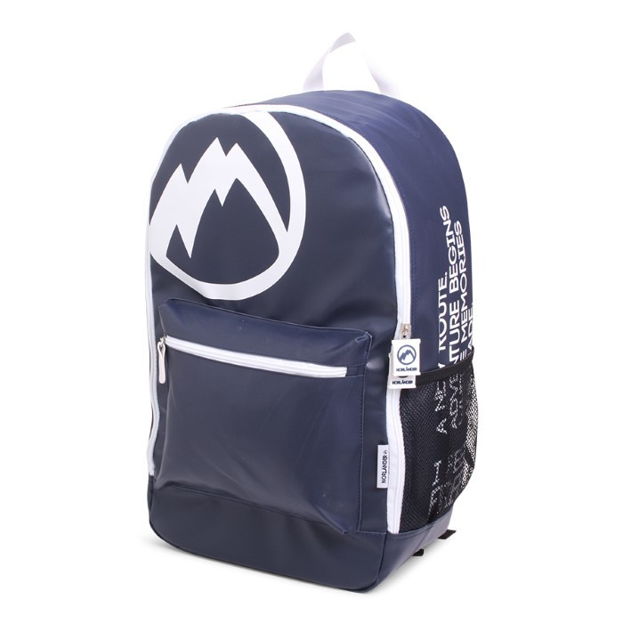 "Norländer ""I Am Free"" Backpack Blue"