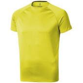 Niagara cool fit heren T-shirt korte mouwen - Neon Yellow - XXXL