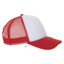 Bubble, White/Red, One size, Sol's