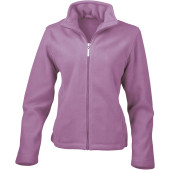 Womens micro fleece jacket lavender xl (16 uk)