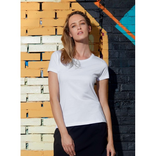Inspire plus ladies' organic t-shirt