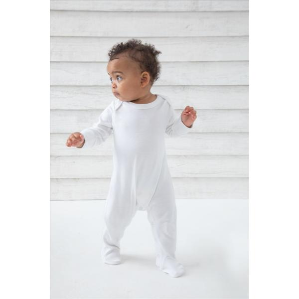 BabyBugz Baby Organic Sleepsuit with Mitts