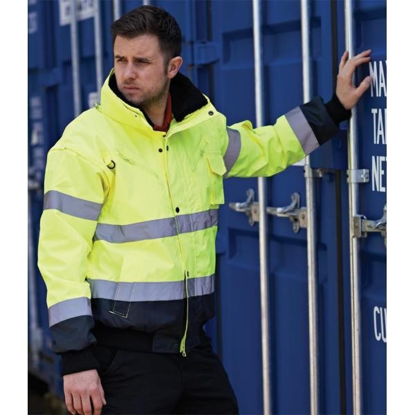 3-in-1 Hi-Vis Bomber Jacket
