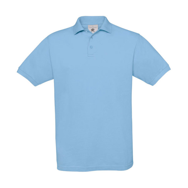 PIQUE POLO SAFRAN PU409 - Men's Polo Shirt 180 g/m2
