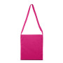 Katoenen shopper fuchsia one size