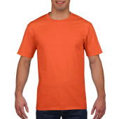 Gildan T-shirt Premium Cotton Crewneck SS for him Orange S