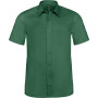 Ace - heren overhemd korte mouwen forest green 6xl
