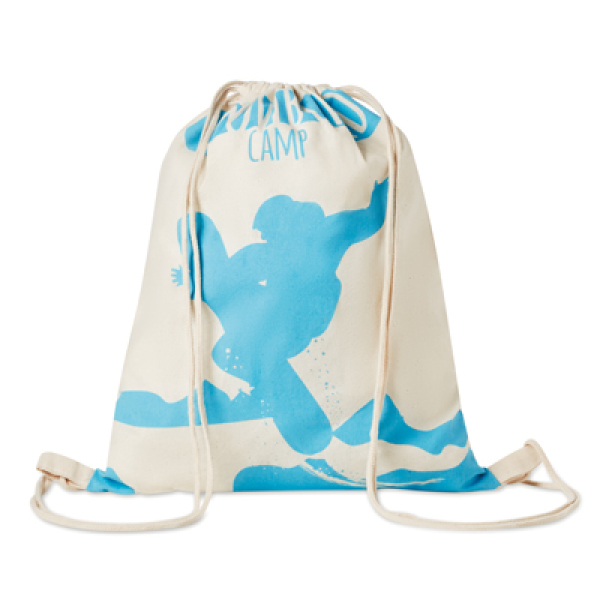 Drawstring bag made of cotton