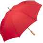 AC midsize bamboo umbrella ÖkoBrella - red