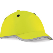 Bump cap fluorescent yellow 'one size