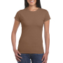 Gildan T-shirt SoftStyle SS for her chestnut S
