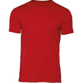 Organic cotton crew neck t-shirt inspire red xl