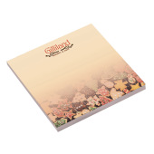 101 mm x 101 mm 100 Sheet Ad Notepads ECO Recycled paper