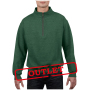 Gildan Sweater 1/4 Zip HeavyBlend Meadow-35% korting S