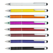 Soft touch color alu kleine pen