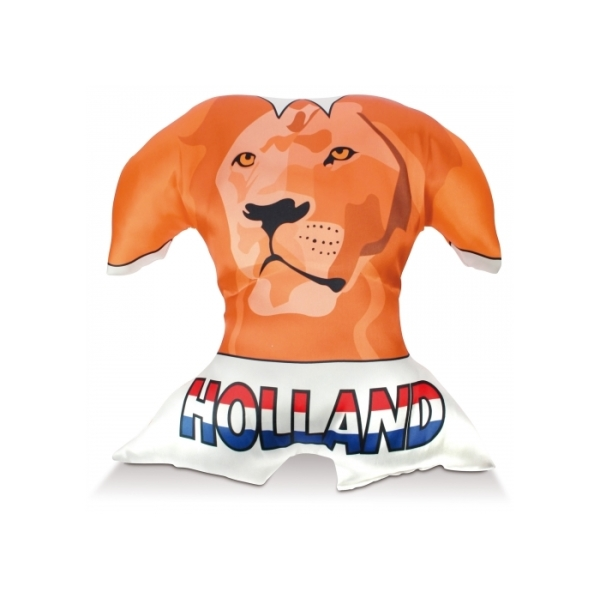 Bedrukte T-shirt kussen Holland