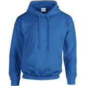 Heavy blend™ classic fit adult hooded sweatshirt royal blue xxl