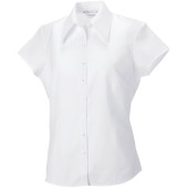Ladies' cap sleeve tencel fitted shirt