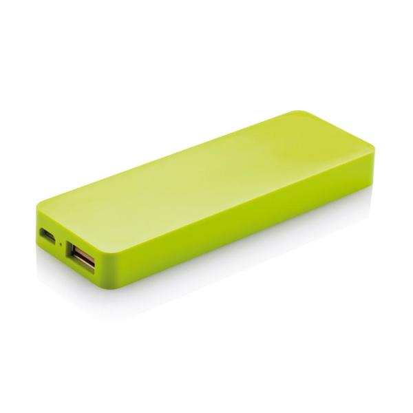 2.500 mAh powerbank, zwart