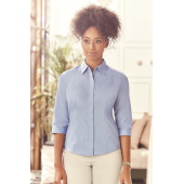 Tailored Poplin Shirt 3/4 sleeve