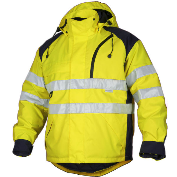 6405 JACKET 3 IN 1 YELLOW/BL HV 3XL
