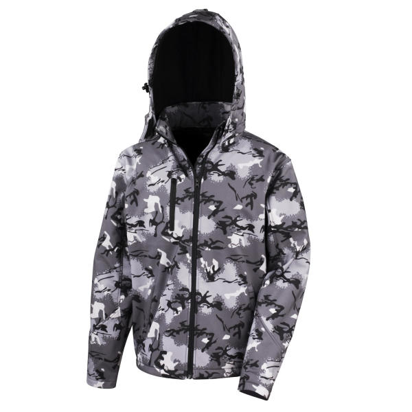 Camo TX Performance Hooded Softshell
