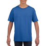Gildan T-shirt SoftStyle SS for kids Royal Blue XS