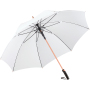 AC alu golf umbrella FARE®-Precious - white/copper