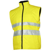 6406 JACKET 6 IN 1 YELLOW HV S