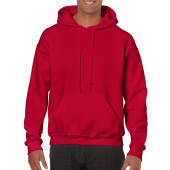 Gildan Sweater Hooded HeavyBlend for him Cherry Red XL