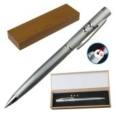 3-in-1 pen met laserpointer, LED