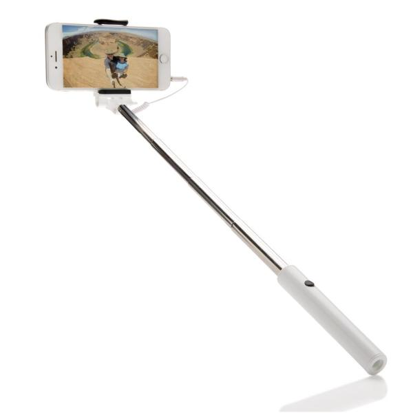 Selfie stick in zakformaat, zwart