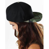 Camo Snapback - Black/Jungle Camo